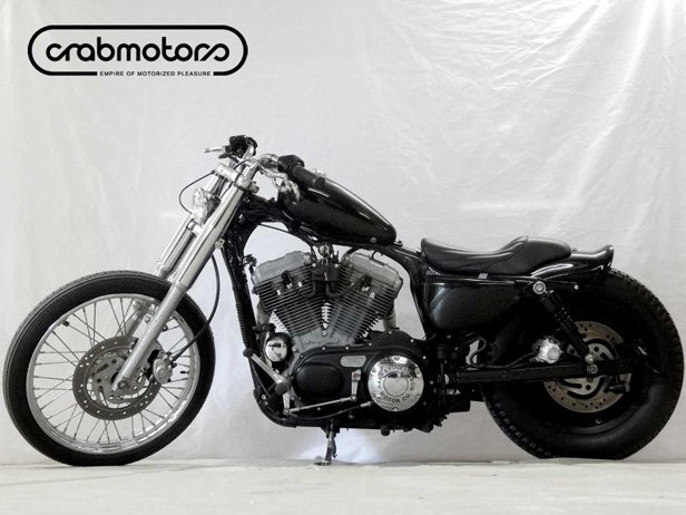 the widow sportster bobber is ready c r a b m o t o r s. Black Bedroom Furniture Sets. Home Design Ideas